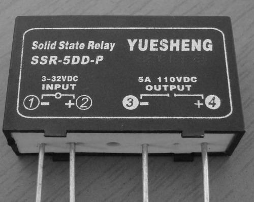 ssr-5dd-p单相直流电路板式固态继电器泉州市伟达