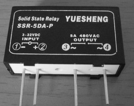 ssr-5da-p单相交流电路板式固态继电器泉州市伟达