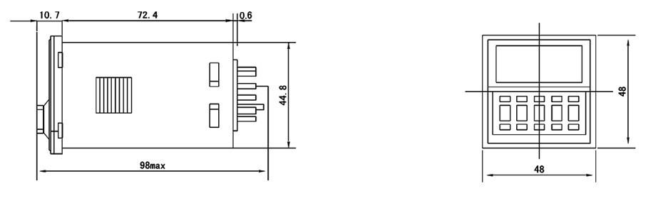 伟达jss21-r_往复型时间继电器(透明防护罩)泉州市化