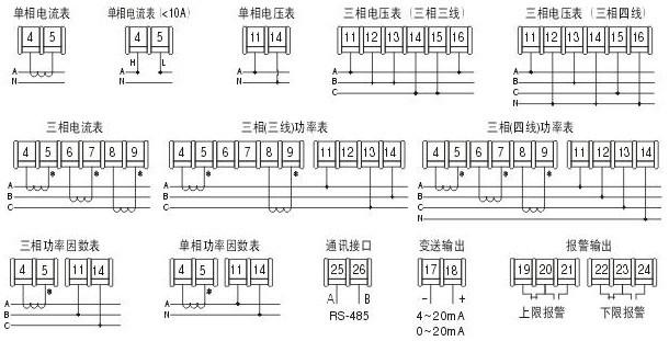 电流电压表pz568p-dx1单相功率表