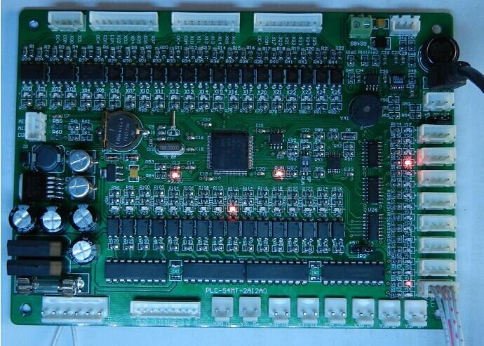 誉达工业级可编程控制器YD3u-60MT-2AI2AO-F1(端子机剥线机专用PLC)