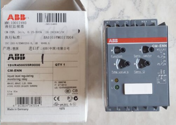 abb料位高度继电器1svr 450055r0000液位监视器10012493